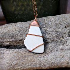 sea pottery jewelry - Google Search