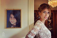 Portrait wedding bride