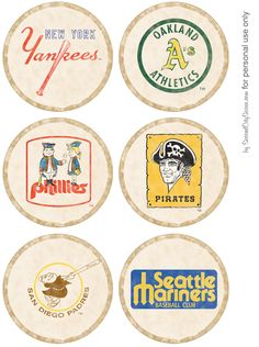Retro Baseball Party for dads, grads, and birthdays - Blog - Home entertaining and party planning ideas from a Chicago hostess