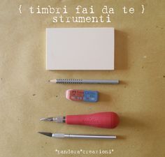 timbri fai da te } cosa serve #stamps #tutorial