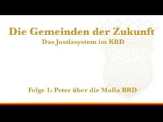 """Peter """"Fitzek"""" - """"Die BRD ist eine Mafia"""" - Die Gemeinden der Zukunft - ..."""