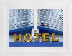 Blue Hotel by Jonathan Brooks at minted.com