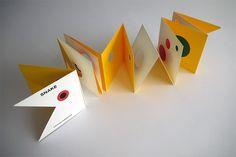 Snake, a beautiful book by Katsumi Komagata