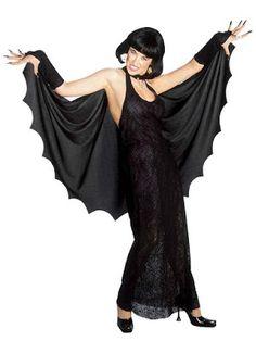 Halloween Kostume Kvinde Sort enke