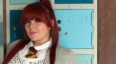 Rhiannon Salt at the office. Waterloo Road, The Office, Ties, Tv Shows, Salt, It Cast, British, Women, Tie Dye Outfits