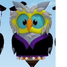 Welcome pilot Vlademir Taveira of Brazil! Here is his special shape, Owl (Little Screech).