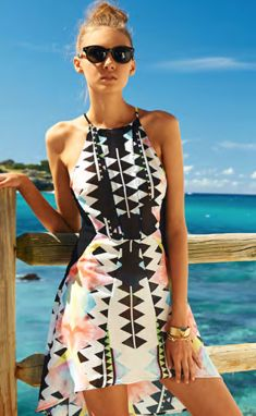 Suboo - Geometric Dress from Pontoon Store - Online Fashion