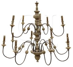 Philippe French Country Reclaimed Wood Iron 13 Light Grand Chandelier - transitional - Chandeliers - Kathy Kuo Home French Country Lighting, French Country Chandelier, Country Lamps, Transitional Chandeliers, Contemporary Chandelier, Estilo Navy, Wood Chandelier, House Of Turquoise, Beach Cottage Style