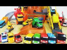 Tayo the Little Bus English Compilation Cars Toys - YouTube