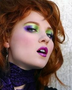 80's makeup ~I did this :D