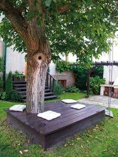 Sie Mochte Ihren Garten Nicht … Mit Hilfe Von Günstigen Paletten Macht Sie Das Hier! Nummer 4 Ist Auch Sehr Toll!