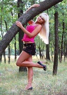 Lindos ucranianos, russos senhora imagens: Kristina de Alchevsk