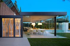 Molins Interiors // exteriores - porche exterior - cerramiento exterior - jardín - salón exterior - comedor exterior