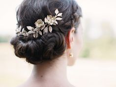 The Best Updo for Your Hair Type and Texture  | Photo by: Hot Metal Studio | TheKnot.com