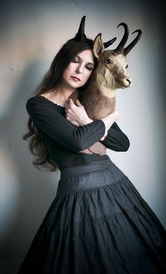 Witchcraft Gothic world by Eugenia Berg