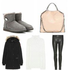 Winter Collection Yadox.com #yadox #yadoxshop #ugg #stellamccartney #parka #sweater #boots
