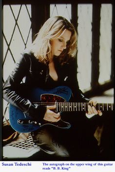 Susan Tedeschi.  Girl can play and has some chops