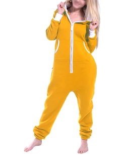 94b06275f502 Skylinewears - SkylineWears Ladies One Piece Hoodie Jumpsuit Playsuit -  Walmart.com