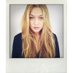 Gigi Hadid NEWfaces ❤ liked on Polyvore featuring gigi hadid, people, pictures, gigi and polaroid