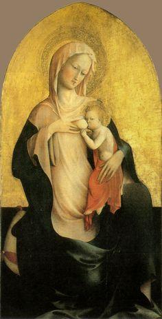 Masolino da Panicale: Virgin and Child