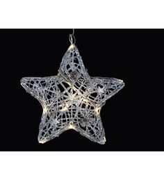 Sirius Siv Star 16-osainen valosarja.    Siv Star sarjassa on 16 kimaltelevaa, metallirunkoista koristetähteä LED-valoilla. Johdon pituus: 5 m. Tuotenumero: 101489731 15,90€  Kärkkäinen