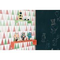 Ideas de papel pintado geométrico para niños