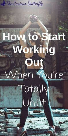 How to Start Working Out – The Curious Butterfly Blog | Starting a workout is hard, especially when you haven't done it in a long time or are recovering from injury or illness. Click to read 9 actionable steps to start and stick with your work