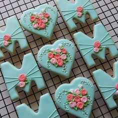Mum Mother's Day Cookies Flower Rose String