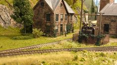 The Wyeth Pulp & Paper Mill on my model railroad. by Troels Kirk. The scratchbuilt mill on my On30 gauge Coast Line RR model railroad, freelanced but set in Maine in the 1930ies.