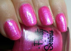 Secretary`s Nail Art: Pretty Serious - The Pink One