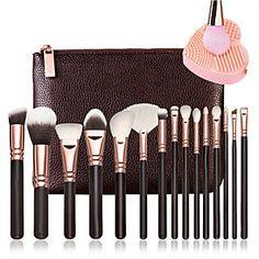 Search: make up brush set   LightInTheBox Natural Everyday Makeup, Natural Makeup For Brown Eyes, Makeup For Green Eyes, Natural Makeup Looks, Blue Eye Makeup, Makeup Brush Dupes, Makeup Brush Set, Simple Makeup Looks, Makeup Tools