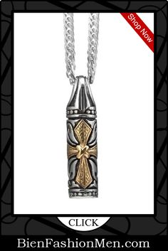Mens Necklaces | Mes Necklace | Mens Accessories | Mens Jewelry | Mens Fashion |  Necklace on Men | Jewelry on Men | Jewelery for Men | Necklaces on Men | Men Jewellry ♦ Vintage Style Mens Celtic Cross Pendant Stainless Steel Chain Necklace $21.90
