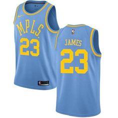 Men s Nike Los Angeles Lakers LeBron James Royal Blue NBA Swingman Hardwood  Classics Jersey on sale a62593f43