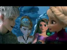 Bang Bang- Rapunzel,Elsa and Anna x jack (part of MEP) - YouTube
