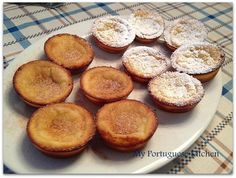 My Portuguese Kitchen: Milk Tarts