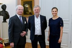 Princess Victoria attended a meeting with the new ministers of the cabinet