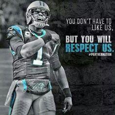 Men's Nike Carolina Panthers #1 Cam Newton Blue Alternate Elite Autographed NFL Jersey