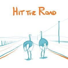 Hit the road - by Livia Prudilova - Anglicky efektívne