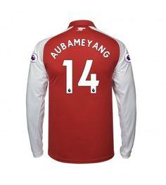 Arsenal Aubameyang 14 Hemmatröja 17-18 Långärmad Arsenal Fc, Premier League, Tops, Fashion, Moda, La Mode, Shell Tops, Fasion, Fashion Models