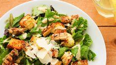Straccetti di pollo all'insalata