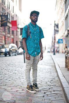 #NewYork #StreetStyle #Menswear #Monobi