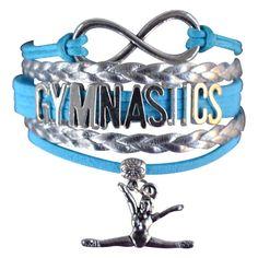 Girls Gymnastics Infinity Bracelet