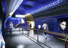 """Studio Egret West has developed a """"revolutionary new design vision"""" for London Underground stations of the future"""