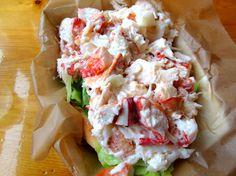 champlin's lobster roll, galilee, ri          #VisitRhodeIsland