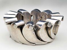 Bracelet   Antonio Pineda. Sterling silver. ca. 1953.