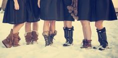 13 Winter Wedding Footwear Ideas