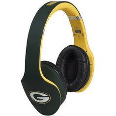 Green Bay Packers Swipe Bluetooth Headphones at the Packers Pro Shop http://www.packersproshop.com/sku/0801458058/