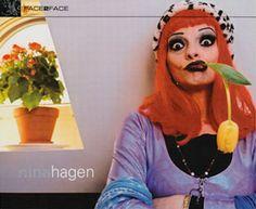 N I N A H A G E N Nina Hagen, Post Punk, Music Is Life, Punk Rock, Music Artists, Style Icons, Musicians, Beautiful People, Attitude