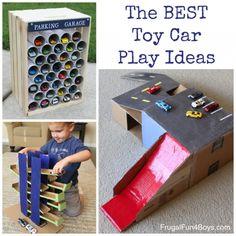 The BEST Toy Car Play Ideas