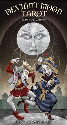 Deviant Moon Tarot Deck, my current & favorite deck